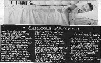 A Sailor's Prayer