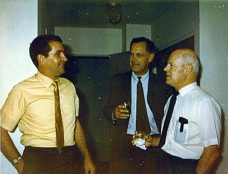 L to R: Dave Miller, B.B. Anderson, Don Garrity